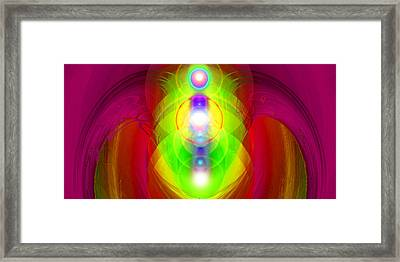 Angel-gate No. 01 Framed Print by Ramon Labusch