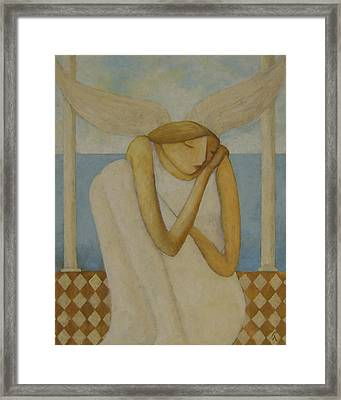 Angel Framed Print by Glenn Quist
