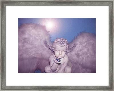 Angel-heart Framed Print by Ramon Labusch