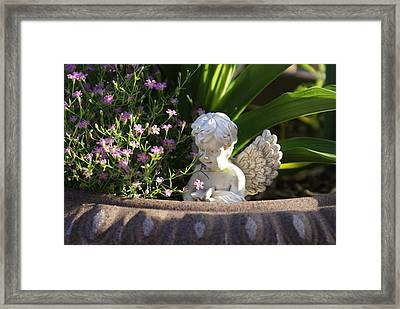Angel Framed Print by Heidi Poulin