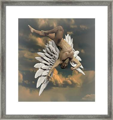 Angel Icarus Framed Print