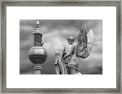 Angel In Berlin Framed Print