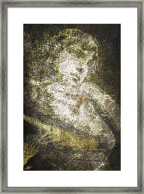 Angel In Bronze And Copper Framed Print
