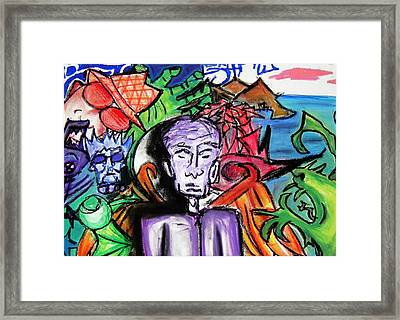 Angel In Disguise Framed Print