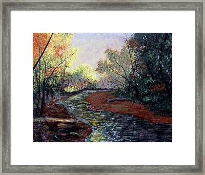 Angel In Nature Framed Print