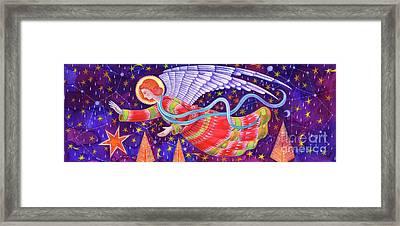 Angel Framed Print by Jane Tattersfield