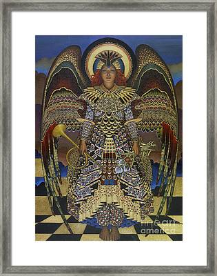 Angel Framed Print by Jane Whiting Chrzanoska
