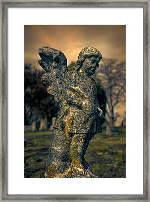 Angel Framed Print by Jemmy Archer