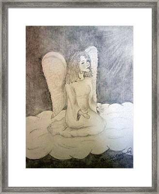 Angel Framed Print by Jennifer Hernandez