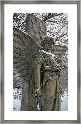 Angel Framed Print by Jim Brage