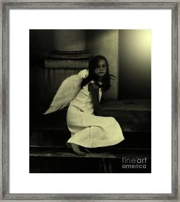 Angel Light Framed Print