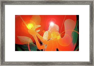 Angel-light No. 01 Framed Print by Ramon Labusch