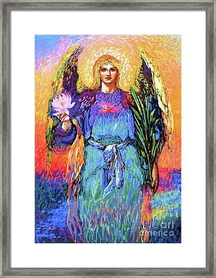 Angel Love Framed Print