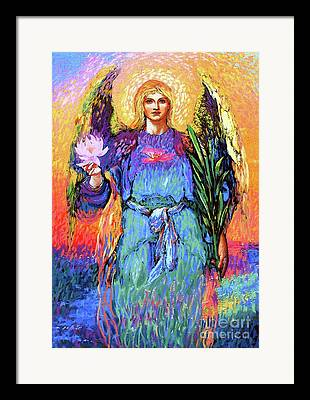 Angelic Framed Prints