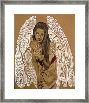 Angel Messenger Framed Print by Margie Resto