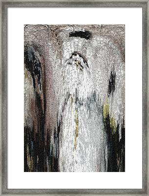 Angel Framed Print by Mindy Newman