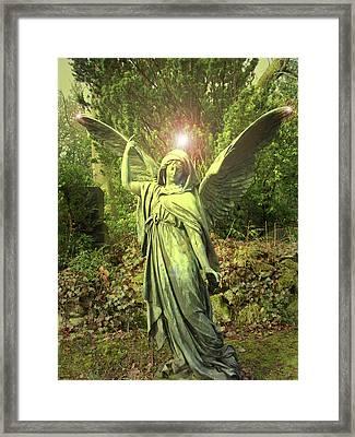 Angel Of Alliance No. 01 Framed Print by Ramon Labusch