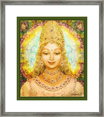 Angel Of Beauty  Framed Print by Ananda Vdovic