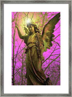 Angel Of Bless No. 02 Framed Print by Ramon Labusch