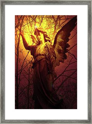 Angel Of Bless No. 03 Framed Print by Ramon Labusch