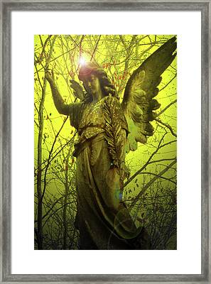 Angel Of Bless No. 04 Framed Print by Ramon Labusch