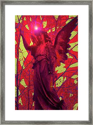 Angel Of Blesss No. 05 Framed Print by Ramon Labusch
