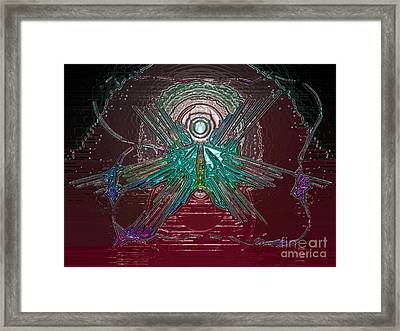 Angel Of Blood Framed Print by Patrick Guidato