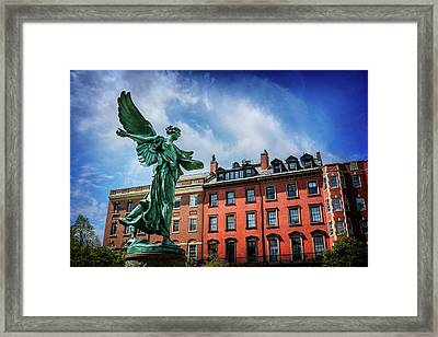 Angel Of Boston  Framed Print