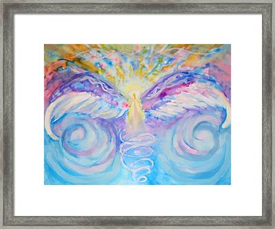 Angel Of Change Framed Print