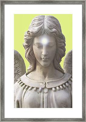 Angel Of Devotion No. 12 Framed Print by Ramon Labusch