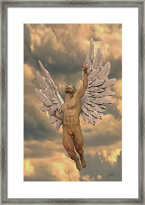 Angel Of Dulce De Leche Framed Print