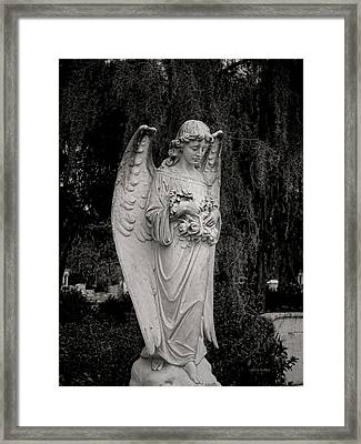 Angel Of Expression Framed Print