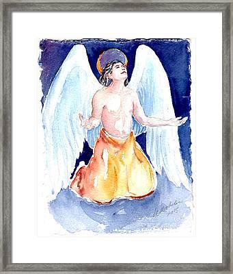 Angel Of Gratitude Framed Print