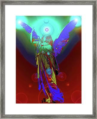 Angel Of Harmony No. 07 Framed Print by Ramon Labusch