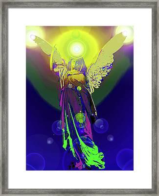 Angel Of Harmony No. 09 Framed Print by Ramon Labusch