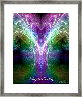 Angel Of Healing Framed Print