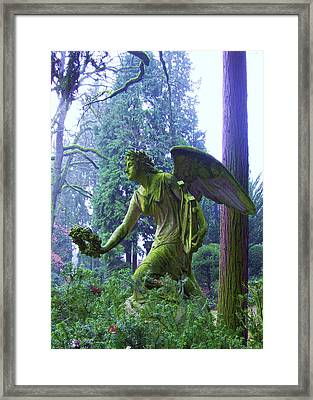 Angel Of Honor No. 01 Framed Print by Ramon Labusch