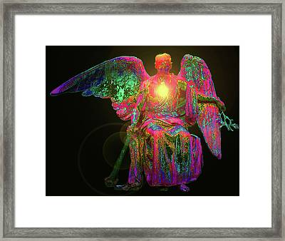 Angel Of Justice No. 03 Framed Print by Ramon Labusch