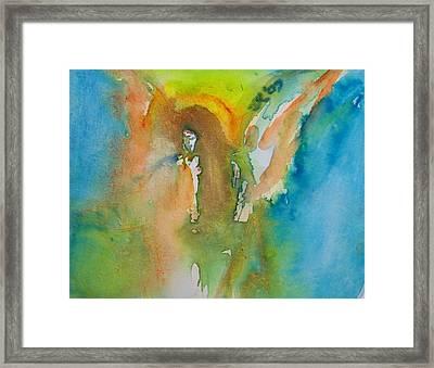 Angel Of Kindness Framed Print
