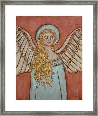 Angel Of Liberation Framed Print