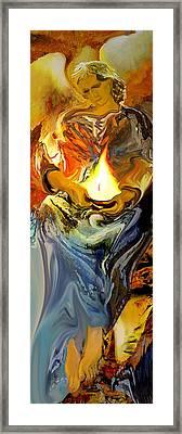 Angel Of Light Framed Print by Anne Weirich