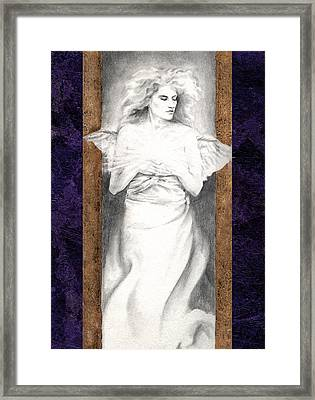 Angel Of Light Framed Print by Ragen Mendenhall