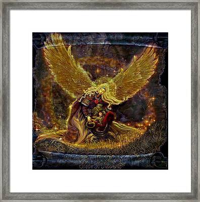 Angel Of Light Framed Print by Steve Roberts