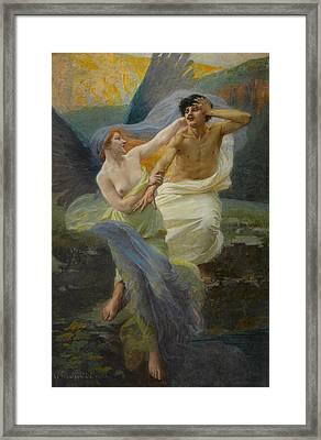Angel Of Mercy Framed Print