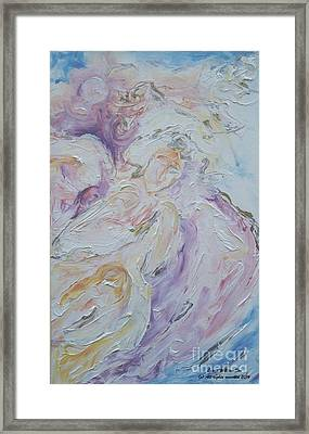 Angel Of Messages Framed Print