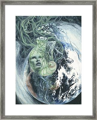 Angel Of Peace Framed Print by Ragen Mendenhall