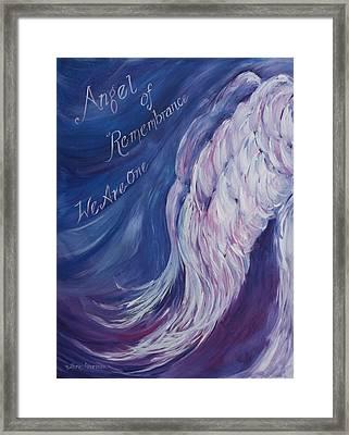 Angel Of Remembrance Framed Print