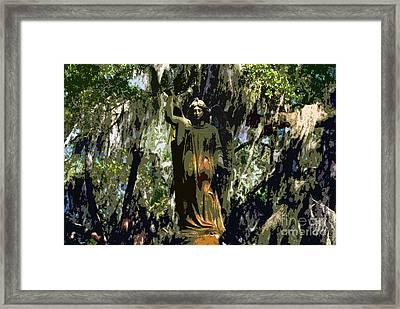 Angel Of Savannah Framed Print by David Lee Thompson