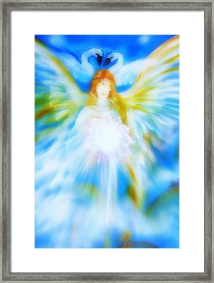Angel Of Serenity Framed Print