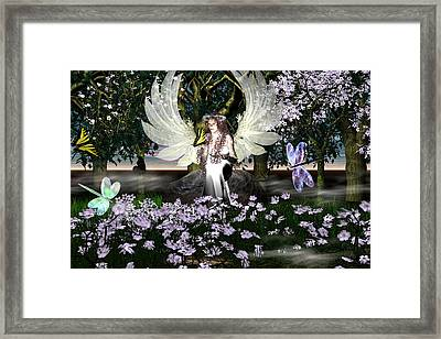 Angel Of Thankfulness Framed Print